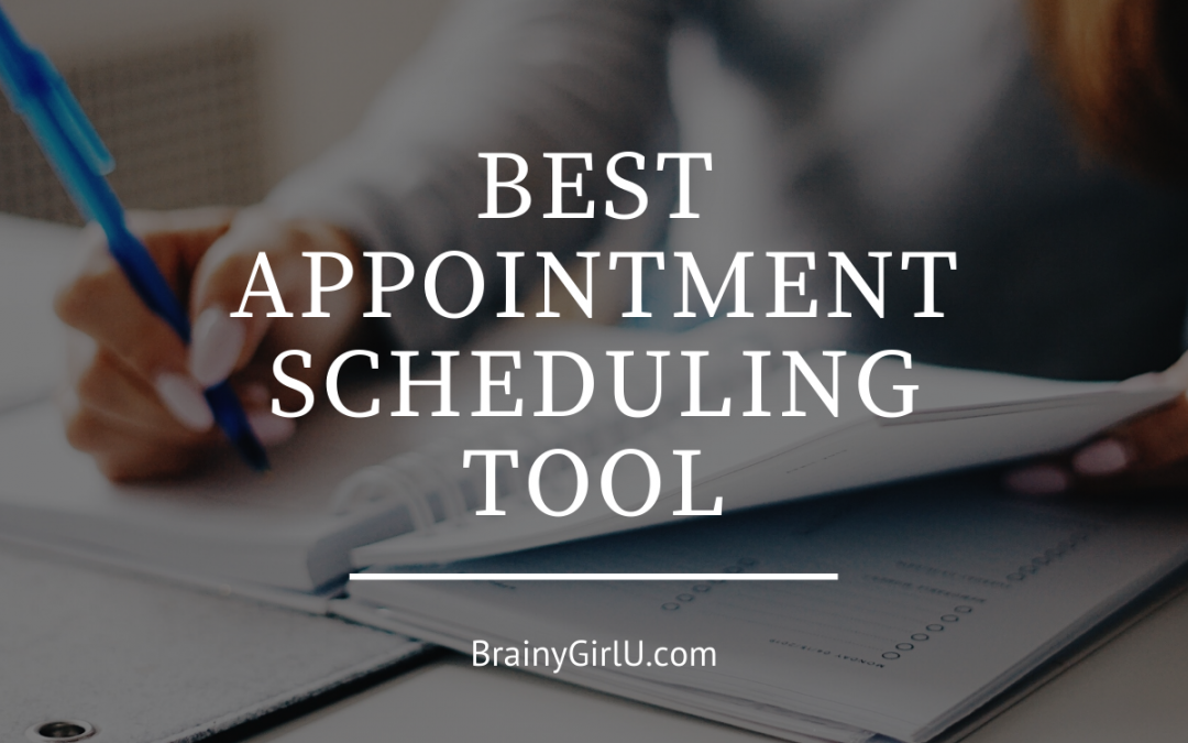 best appointment scheduling tool
