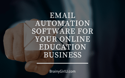 Email Automation Software For Your Online Education Business